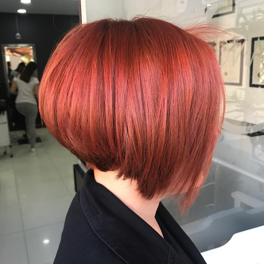 10 Short Edgy Haircuts For Women – Try A Shocking New Cut & Color Inside Fire Red Short Hairstyles (View 6 of 25)