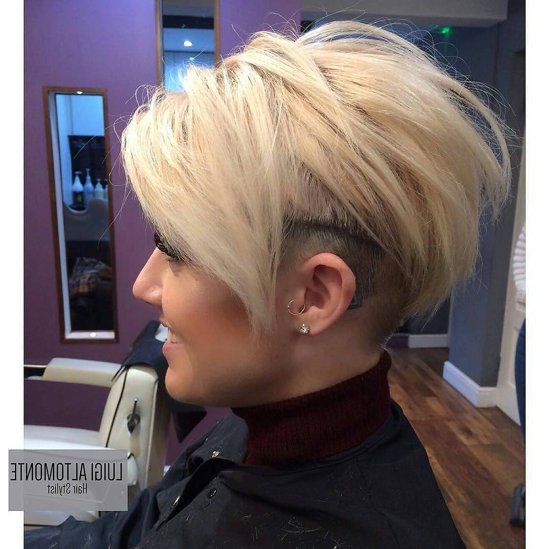 10 Short Edgy Haircuts For Women – Try A Shocking New Cut & Color Regarding Fire Red Short Hairstyles (View 8 of 25)