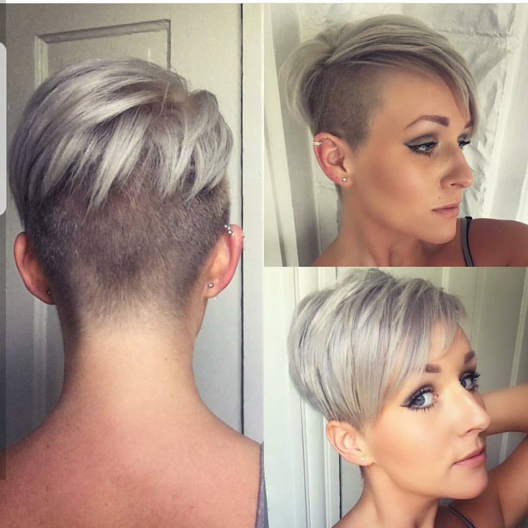 10 Short Haircuts For Fine Hair 2018: Great Looks From Office To Beach! For Easy Care Short Hairstyles For Fine Hair (View 1 of 25)
