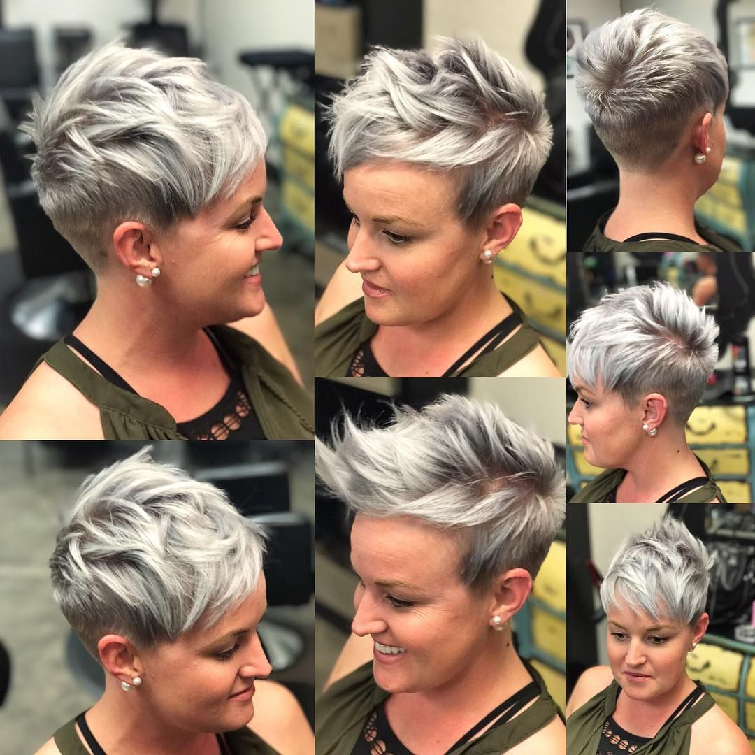 10 Short Hairstyles For Women Over 40 – Pixie Haircuts 2018   Hair For Short Funky Hairstyles For Over  (View 3 of 25)