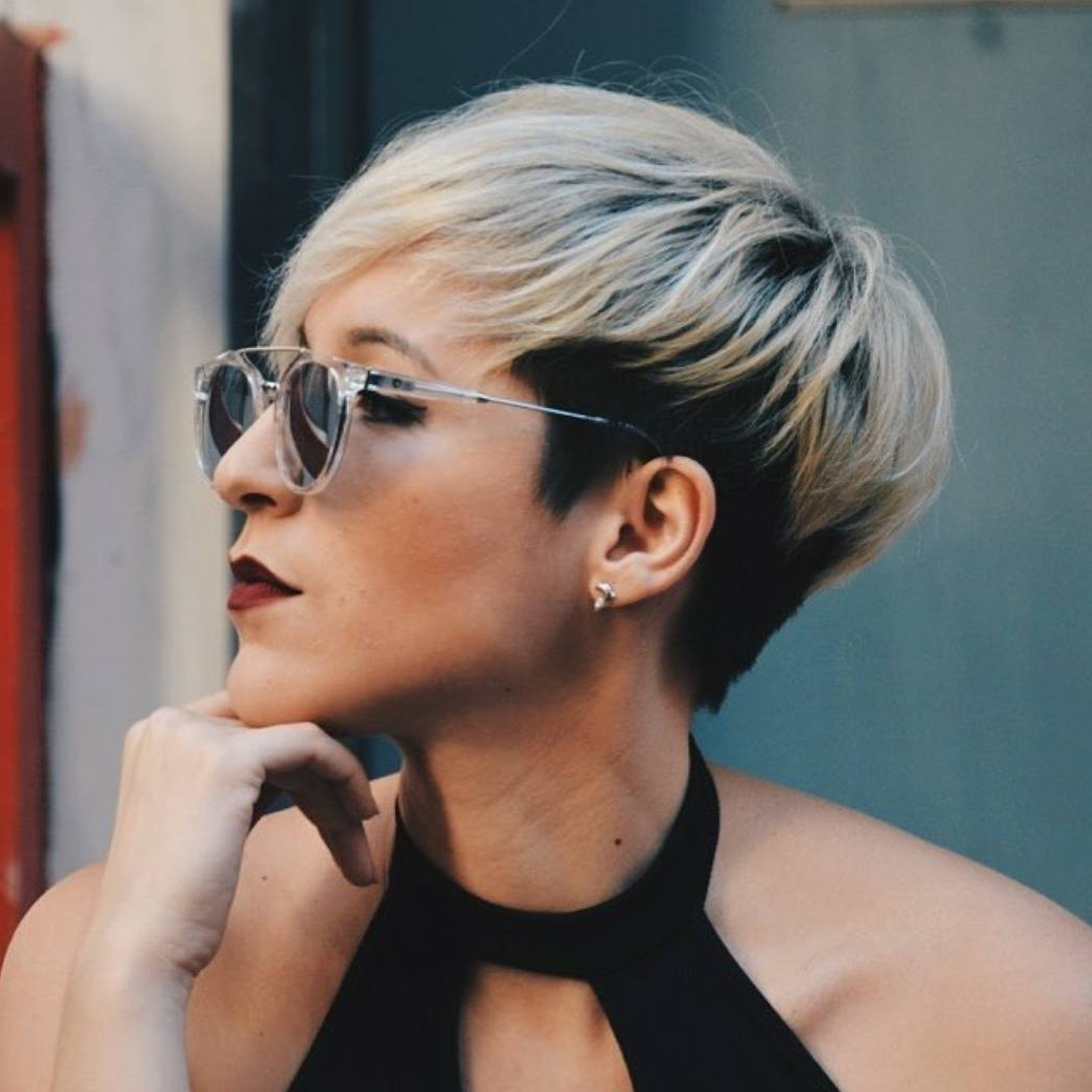 10 Short Hairstyles For Women Over 40 – Pixie Haircuts 2018 With Regard To Short Haircuts For Women With Glasses (View 2 of 25)