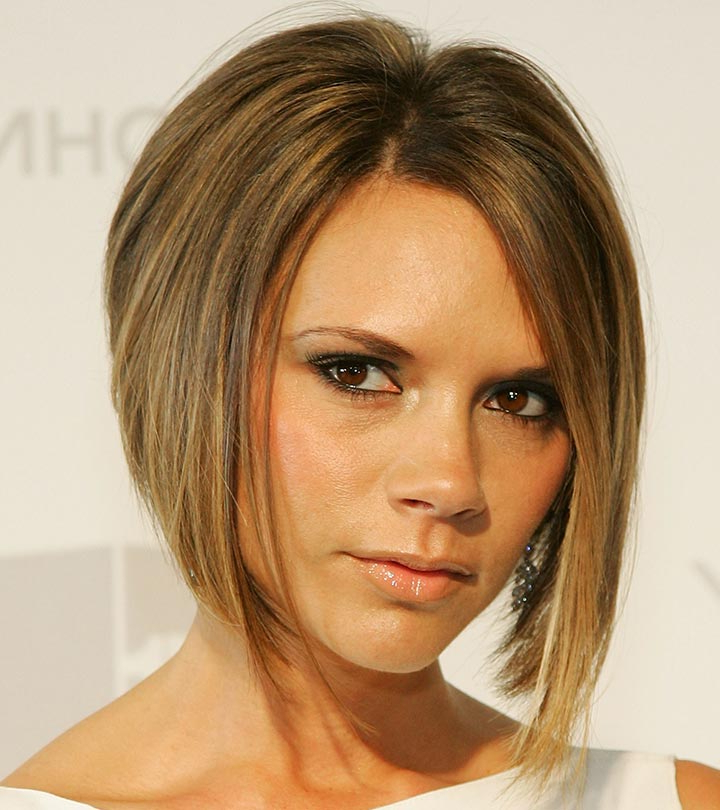 10 Stylish Celebrity Bob Hairstyles You Can Try Out Today Intended For Chic Asymmetrical Haircuts (View 18 of 25)
