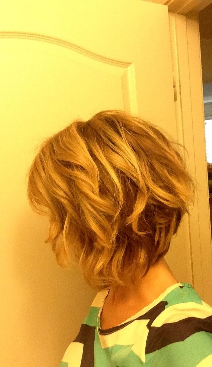 10 Stylish Wavy Bob Hairstyles For Medium, Short Hair | Hair With Inverted Brunette Bob Hairstyles With Messy Curls (View 3 of 25)