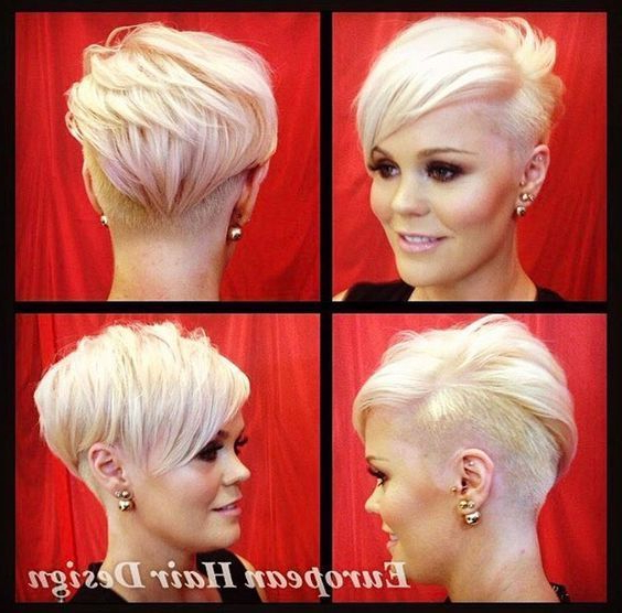 10 Top Fall Hairstyles Inspiredfashion Shows | Women Hairstyles Intended For Funky Pixie Undercut Hairstyles (View 6 of 25)