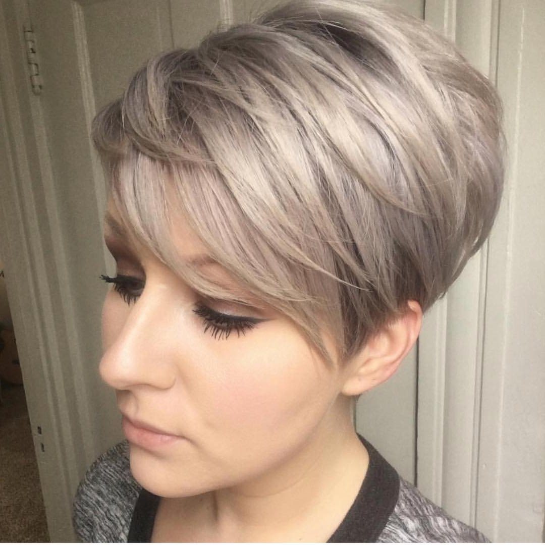 10 Trendy Layered Short Haircut Ideas For 2017 2018 – 'extra Regarding Ash Blonde Short Hairstyles (View 4 of 25)