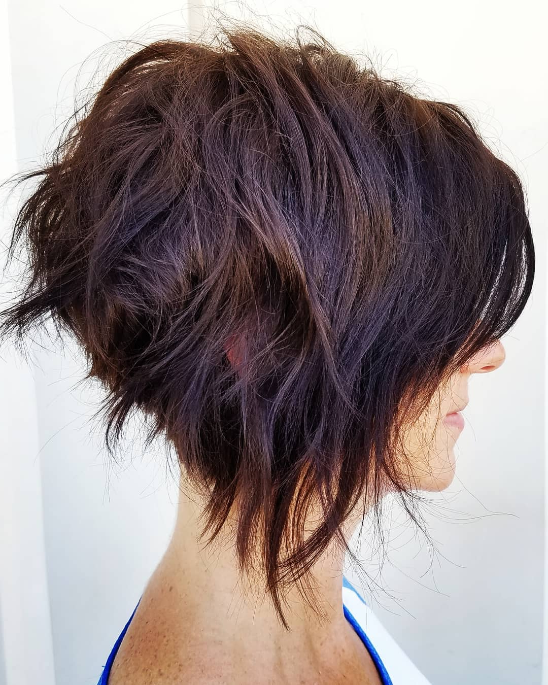 10 Trendy Messy Bob Hairstyles And Haircuts, 2019 Female Short Hair With Auburn Short Haircuts (View 8 of 25)