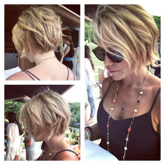 10 Trendy Messy Bob Hairstyles And Haircuts, 2019 Female Short Hair Within Messy Honey Blonde Bob Haircuts (View 1 of 25)