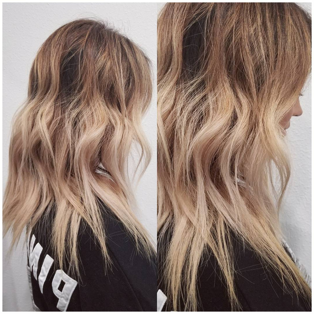 10 Wavy Shoulder Length Hairstyles With Edge, 2018 Women Medium Hair Within Nape Length Wavy Ash Brown Bob Hairstyles (View 21 of 25)