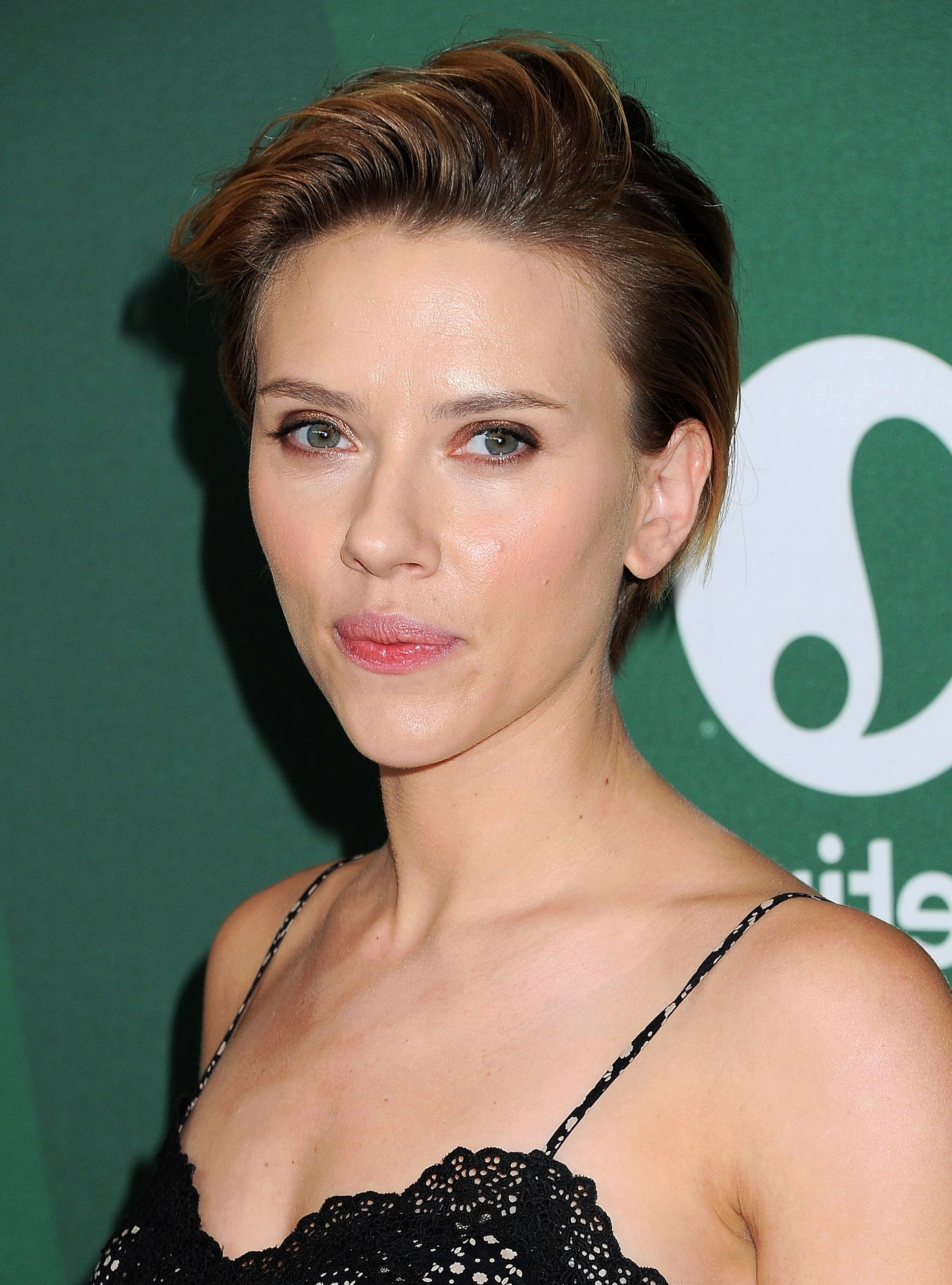 10 Ways To Rock Short Hair Like A Celebrity | Haircut | Pinterest With Regard To Scarlett Johansson Short Hairstyles (View 9 of 25)