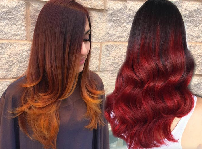 100 Badass Red Hair Colors: Auburn, Cherry, Copper, Burgundy Hair Intended For Short Bob Hairstyles With Dimensional Coloring (View 19 of 25)
