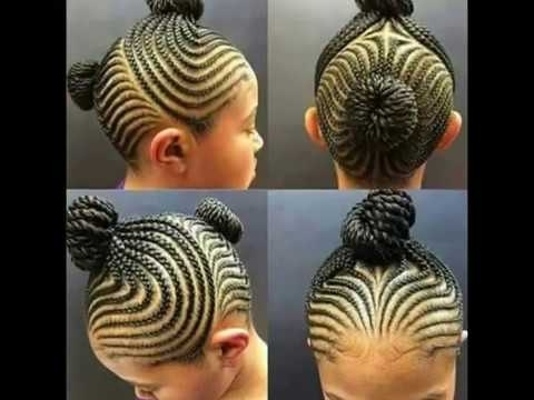 100 Beautiful Braid Hairstyles For Kids 2017 Collection – Youtube With Regard To Beautifully Braided Ponytail Hairstyles (View 20 of 25)