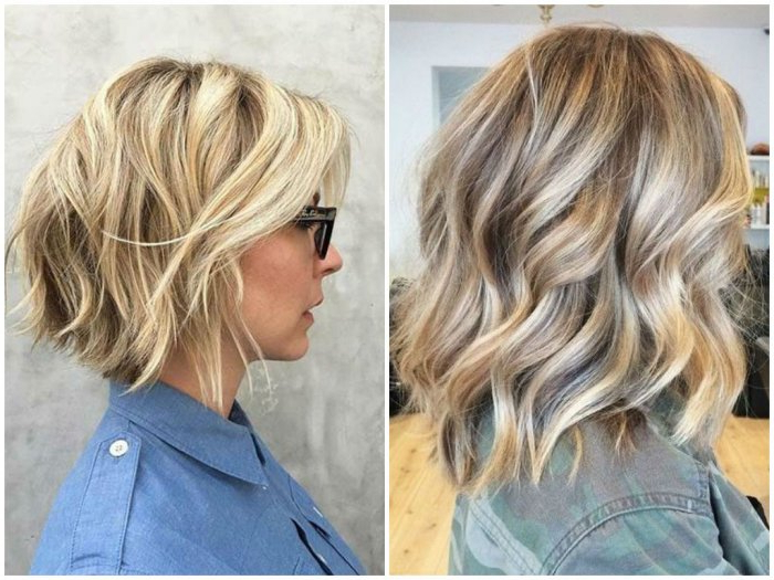 100 Best Blonde Bob Haircuts | Blonde Bobs 2017 With Regard To Long Disheveled Pixie Haircuts With Balayage Highlights (View 13 of 25)