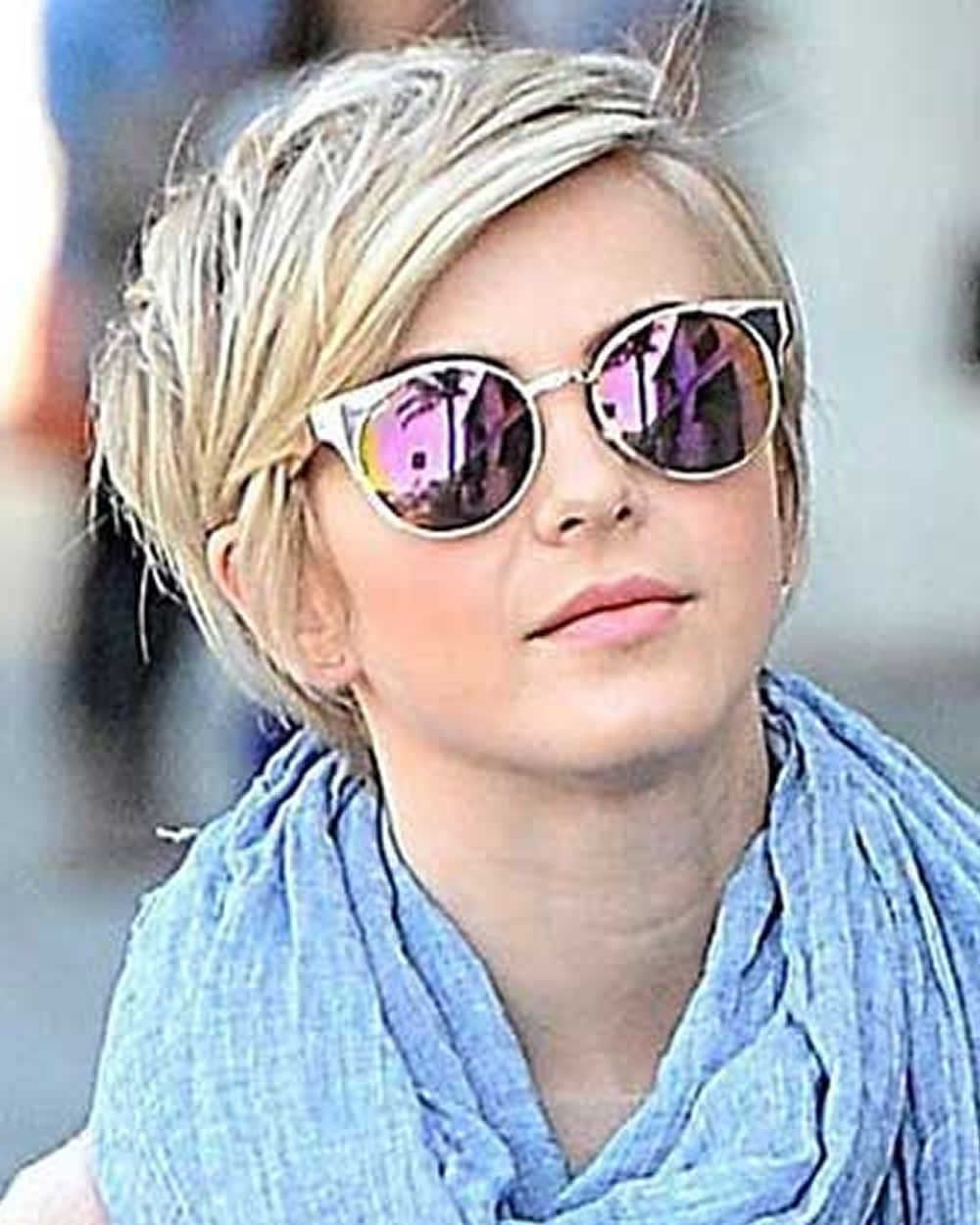 100 Best Short Hair Pixie Cut Hairstyle With Glasses Ideas That Regarding Short Hairstyles For Round Faces And Glasses (View 7 of 25)