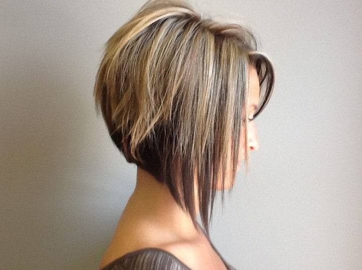 100+ Hottest Bob Haircuts For Fine Hair, Long And Short Bob In Short Tapered Bob Hairstyles With Long Bangs (View 18 of 25)