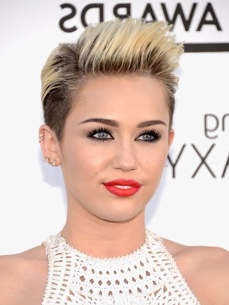 100+ Hottest Short Hairstyles & Haircuts For Women – Pretty Designs Pertaining To Sunny Blonde Finely Chopped Pixie Haircuts (View 14 of 25)