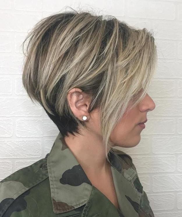 100 Mind Blowing Short Hairstyles For Fine Hair | Blonde Pixie, Ash Pertaining To Long Messy Ash Blonde Pixie Haircuts (View 11 of 25)