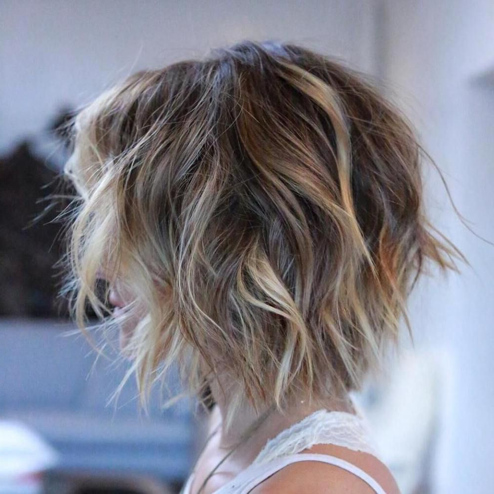 100 Mind Blowing Short Hairstyles For Fine Hair   Hair   Pinterest Within Short Wavy Hairstyles For Fine Hair (View 8 of 25)