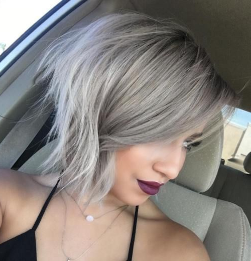 100 Mind Blowing Short Hairstyles For Fine Hair | Hairs | Pinterest Intended For Hazel Blonde Razored Bob Hairstyles (View 8 of 25)