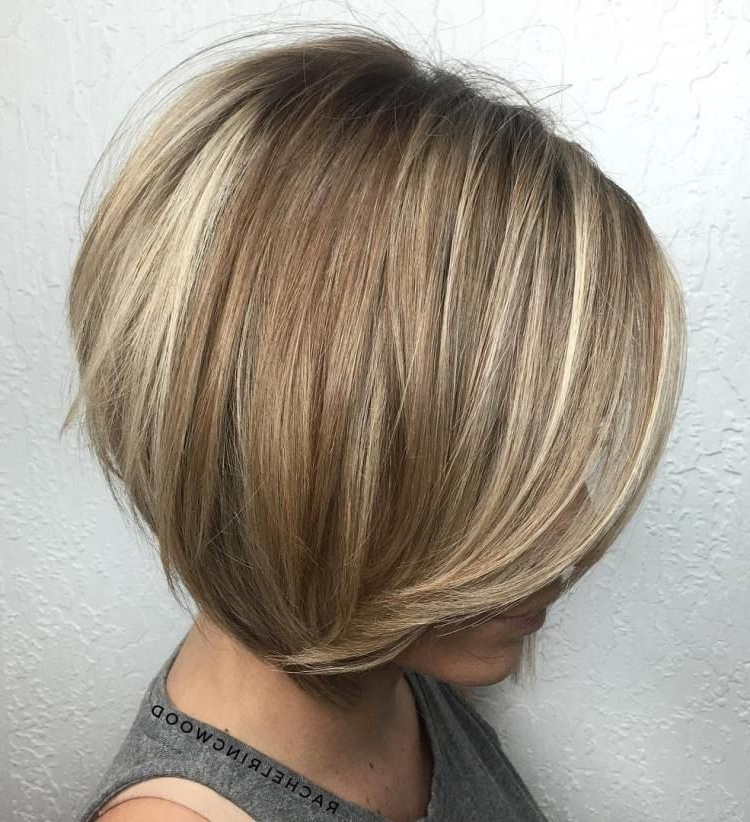 100 Mind Blowing Short Hairstyles For Fine Hair   Hairstyles With Regard To Stacked Blonde Balayage Pixie Hairstyles For Brunettes (View 9 of 25)