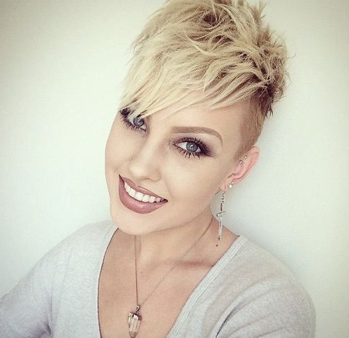 100 Mind Blowing Short Hairstyles For Fine Hair In 2018 | Hair Within Edgy Pixie Haircuts For Fine Hair (View 2 of 25)