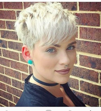 100 Mind Blowing Short Hairstyles For Fine Hair Intended For Icy Poker Straight Razored Pixie Haircuts (View 16 of 25)