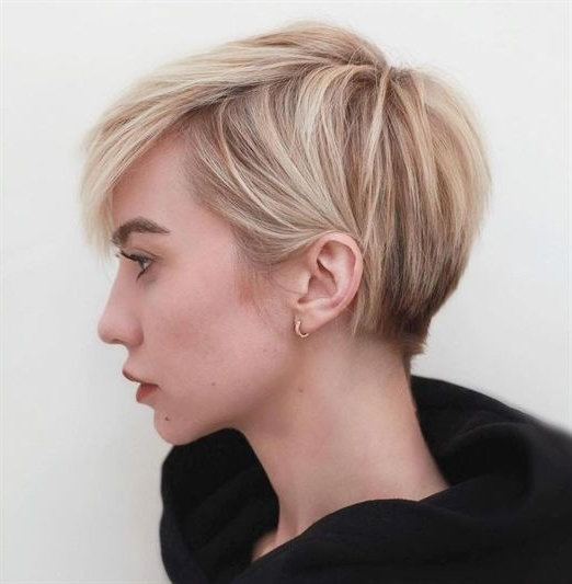 100 Mind Blowing Short Hairstyles For Fine Hair | Ombre Hair | Pinterest Pertaining To Burgundy And Tangerine Piecey Bob Hairstyles (View 24 of 25)