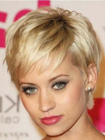 100 Mind Blowing Short Hairstyles For Fine Hair With Regard To Icy Poker Straight Razored Pixie Haircuts (View 20 of 25)