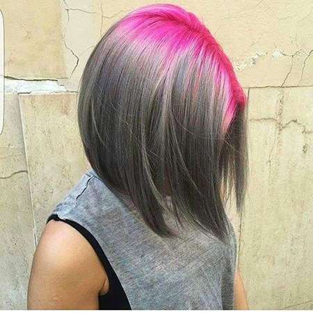 100 New Bob Hairstyles 2016 – 2017 | Short Hairstyles 2017 – 2018 Inside Straight Cut Two Tone Bob Hairstyles (View 3 of 25)