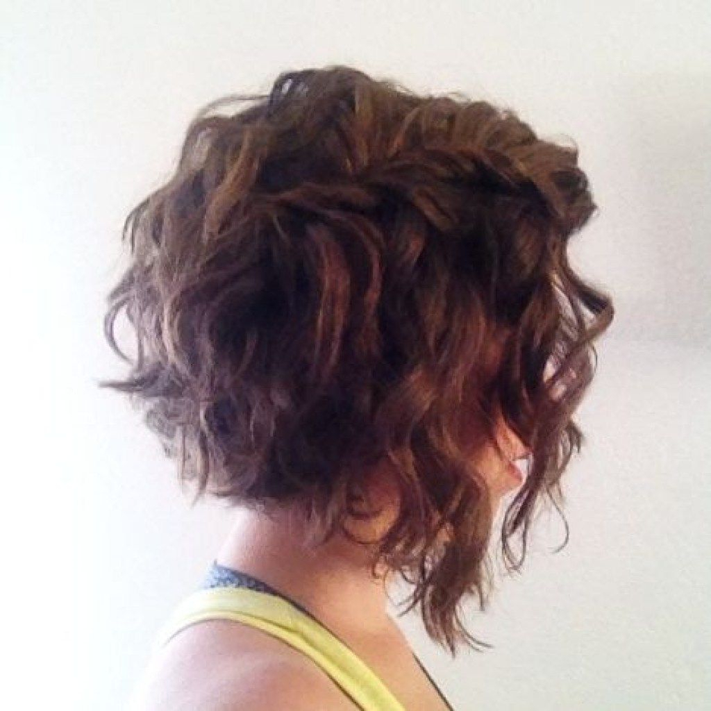 1000 Ideas About Curly Angled Bobs On Pinterest Short Curly In Curly Angled Bob Hairstyles (View 8 of 25)