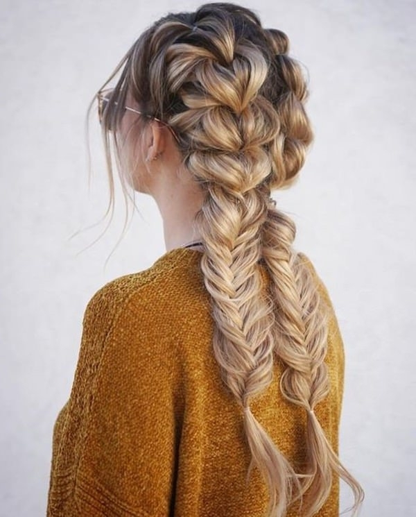 101 Stunning Dutch Braids Hairstyles You Need To Try Throughout Pony And Dutch Braid Combo Hairstyles (View 8 of 25)