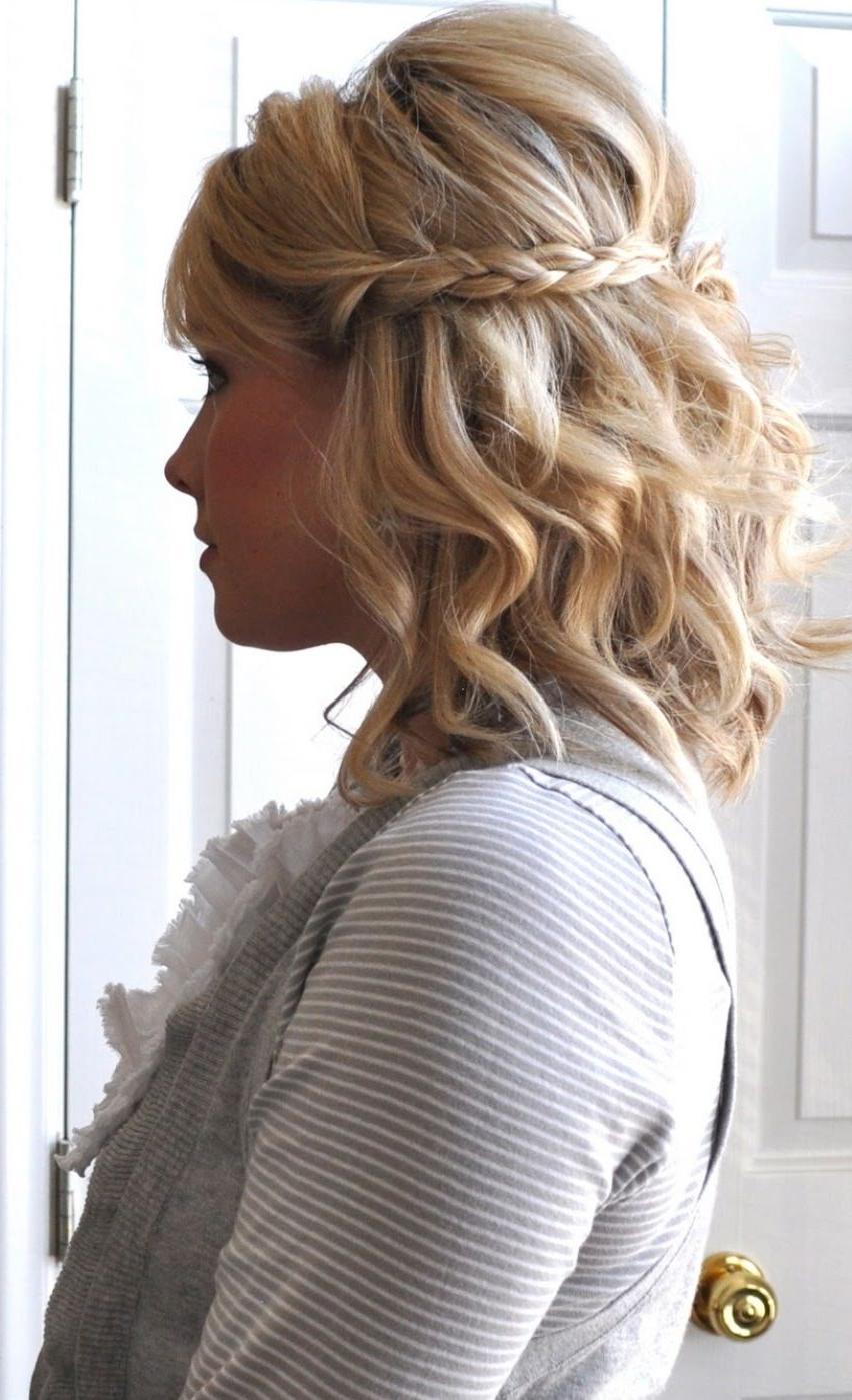 11 Beautiful Braids For Short Hair | Braids | Pinterest | Hair, Hair Intended For Cute Short Hairstyles For Homecoming (View 12 of 25)
