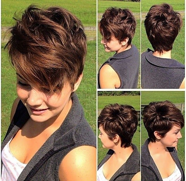 11 Cute Pixie Cuts For Thick Hair 2018 | Cute Pixie Cuts 2018 | Hair With Regard To Straight Pixie Hairstyles For Thick Hair (View 3 of 25)