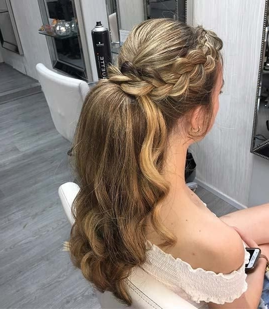 11 More Elegant Ponytail Hairstyles For Special Occasions | Gorgeous Inside Flowy Side Braid Ponytail Hairstyles (View 9 of 25)