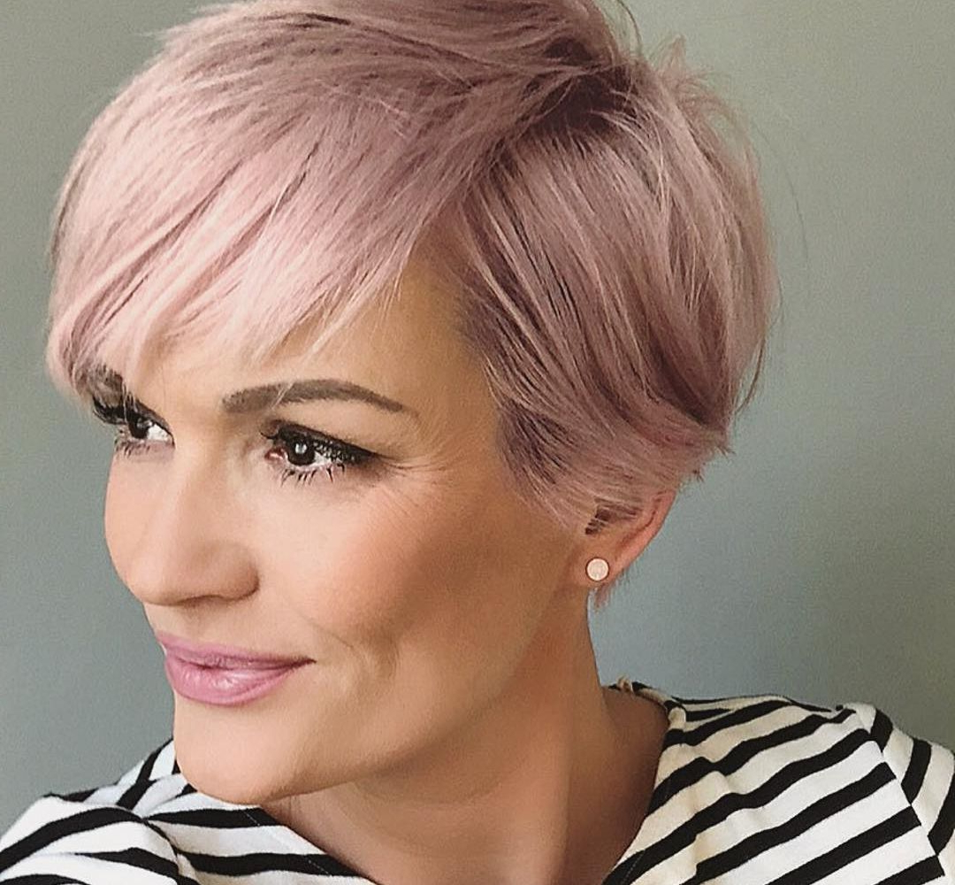 11 Short Hairstyles With Lok! – Page 3 | Hairdos | Pinterest | Short Within Pink Short Hairstyles (View 8 of 25)