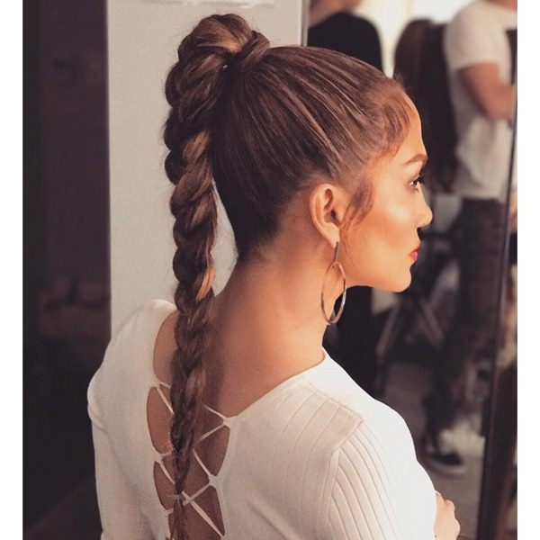 111 Elegant Ponytail Hairstyles For Any Occasion Inside Long Elegant Ponytail Hairstyles (View 7 of 25)