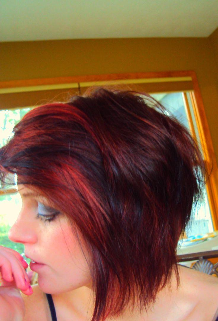 1159 Best Cute Short Hair Ideas Images On Pinterest | Short Sides Regarding Cute Color For Short Hair (View 8 of 25)