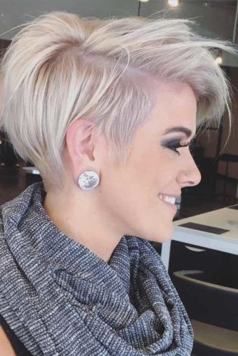 12 Adorable & Stylish Short Haircuts For Thick Hair | Hair Ideas Intended For Pixie Haircuts With Short Thick Hair (View 8 of 25)
