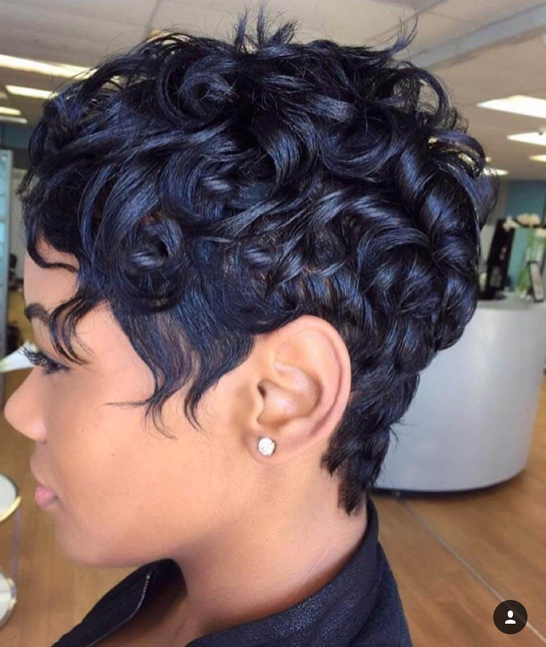 12 Curly Pixie Cut For Short Or Medium Length Hair Regarding Curly Black Tapered Pixie Hairstyles (View 7 of 25)