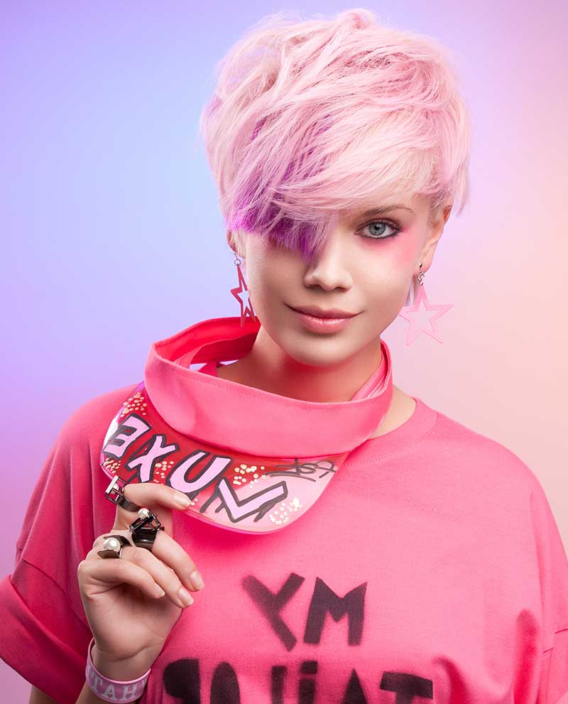 12 Gorgeous Pastel Shades For Short Hair – Style Mish Regarding Pink Short Haircuts (View 25 of 25)