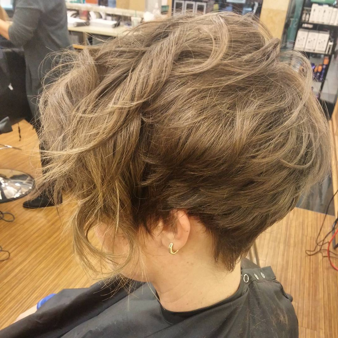 12 Long Pixie Cuts, Bangs And Bob You Will Ever Need With Wavy Messy Pixie Hairstyles With Bangs (View 21 of 25)