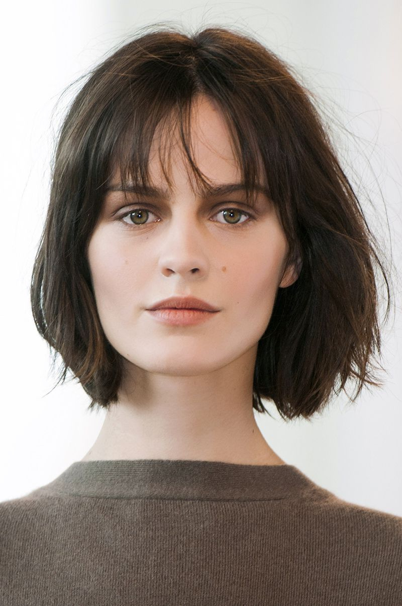 12 Medium Short Hairstyles That Are Low Maintenance, Yet Stylish With Regard To Layered Short Hairstyles With Bangs (View 24 of 25)