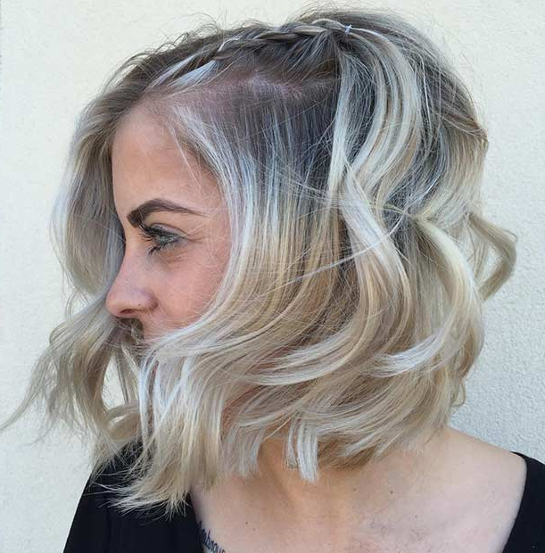 12 Trendy Balayage Highlights Ideas For Short Hair | Hairstyles Throughout Short Crisp Bronde Bob Haircuts (View 20 of 25)