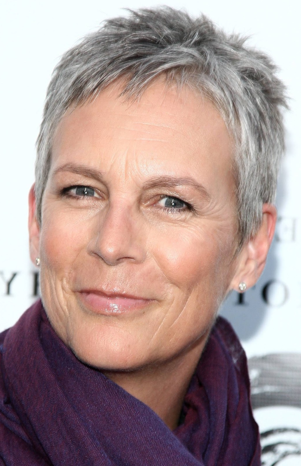 13 Pretty Short Hairstyles For Grey Hair ~ Louis Palace Within Gray Short Hairstyles (View 25 of 25)