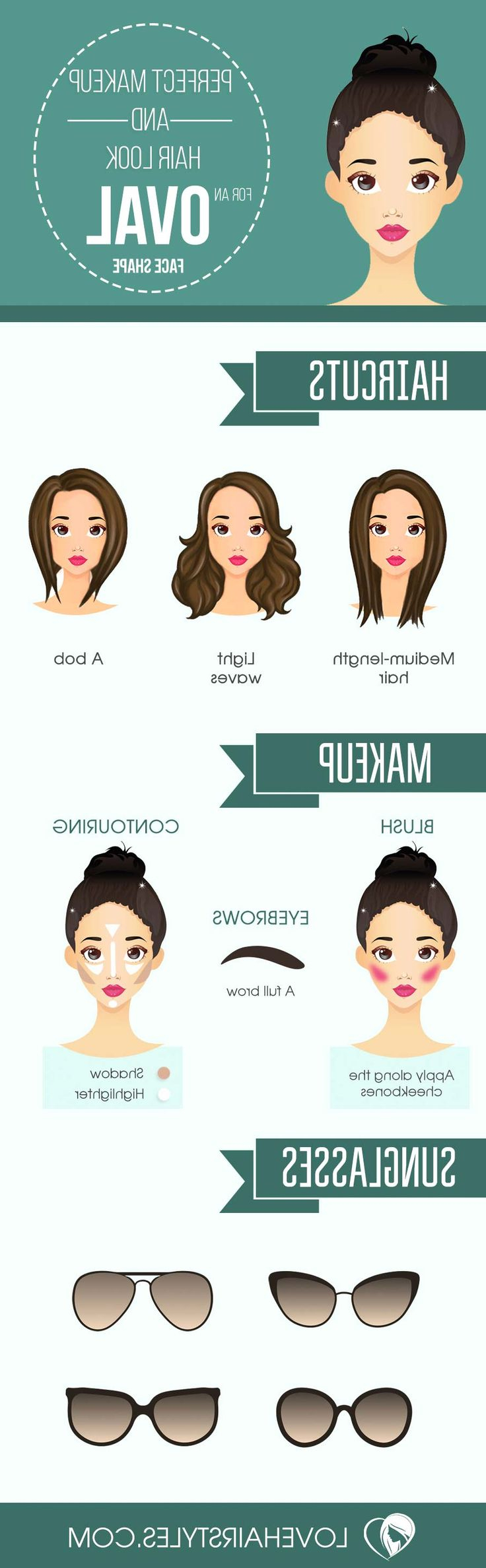 137 Best Hairstyles For Face Shapes Images On Pinterest   Hairstyle Throughout Short Haircuts For Different Face Shapes (View 3 of 25)