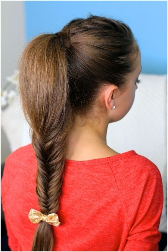 14 Braided Ponytail Hairstyles: New Ways To Style A Braid – Popular In Beautifully Braided Ponytail Hairstyles (View 18 of 25)