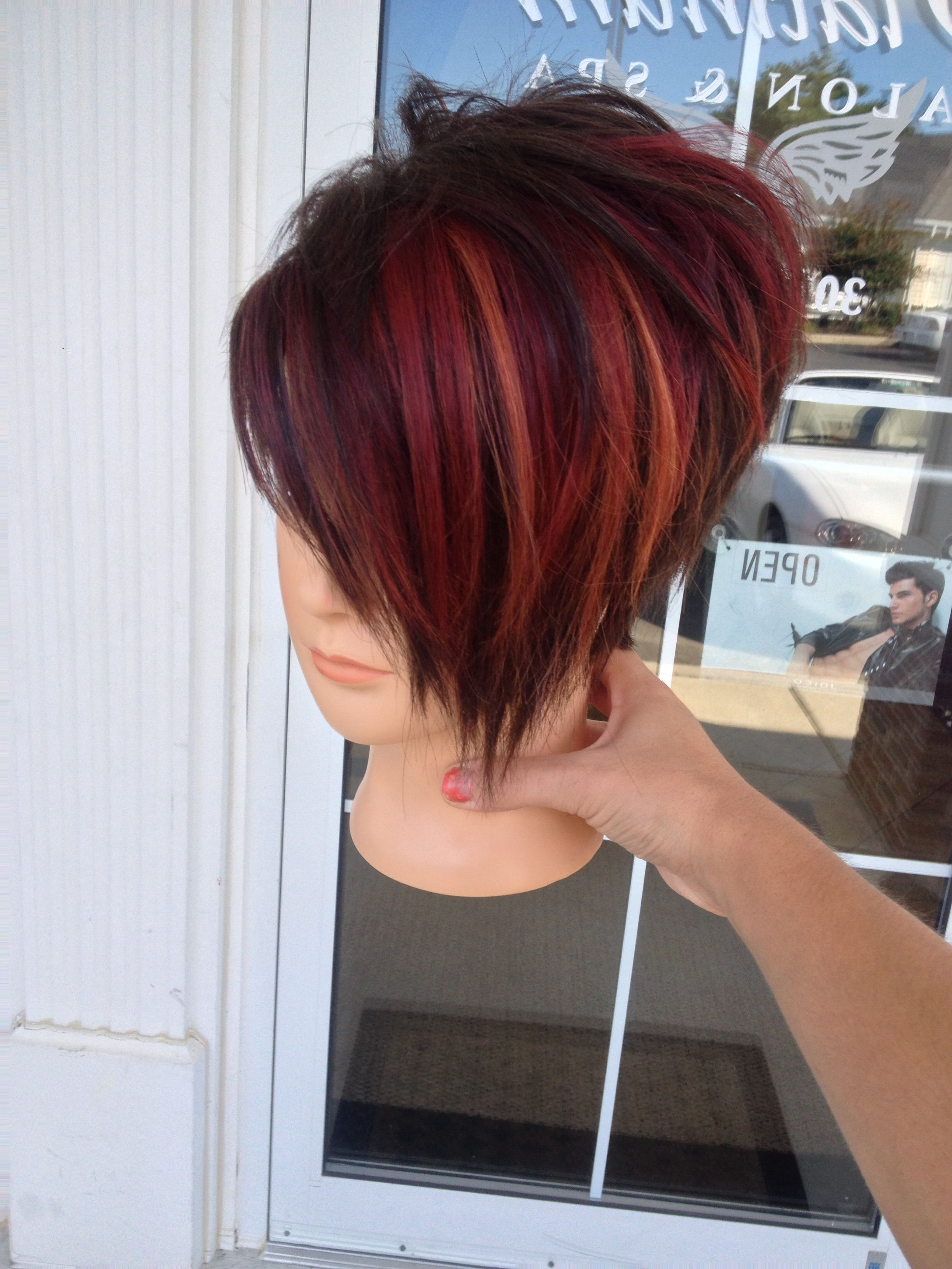 14 Cool Funky Hairstyles In 2018 | Hair | Pinterest | Hair, Hair With Regard To Sassy Short Haircuts For Thick Hair (View 1 of 25)