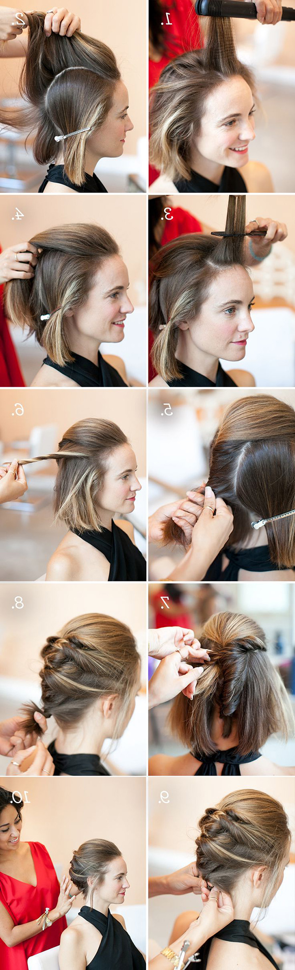 14 Gorgeous Prom Hairstyles For Short Hair – Gurl | Gurl For Short Hairstyles For Prom (View 23 of 25)