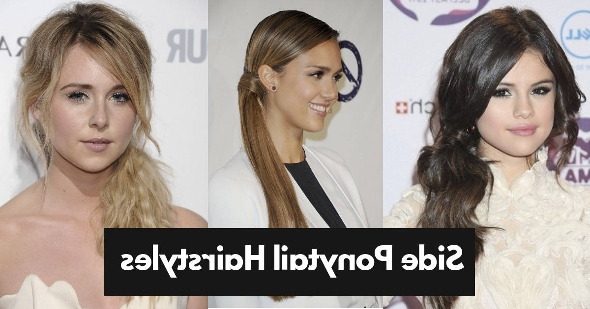 Featured Photo of Simple Messy Side Ponytail Hairstyles