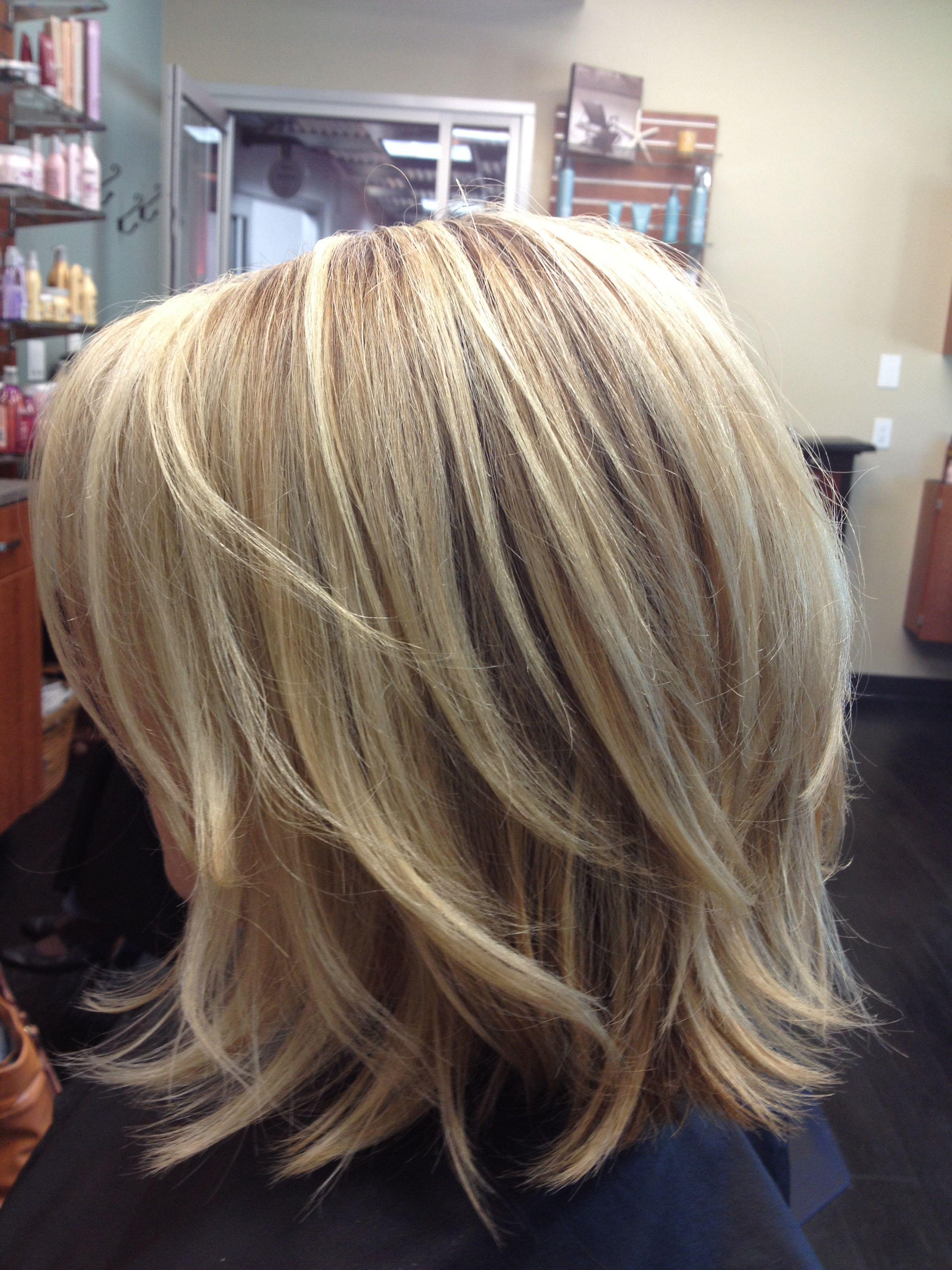 14 Trendy Medium Layered Hairstyles In 2018 | Hair | Pinterest With Short To Mid Length Layered Hairstyles (View 3 of 25)