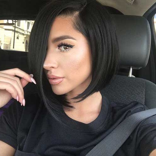15 Asymmetrical Bob Haircuts   Short Hairstyles 2017 – 2018   Most Intended For Chic Asymmetrical Haircuts (View 16 of 25)